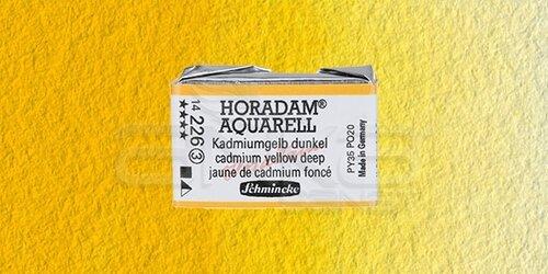 Schmincke Horadam Aquarell 1/1 Tablet 226 Cadmium Yellow Deep seri 3 - 226 Cadmium Yellow Deep