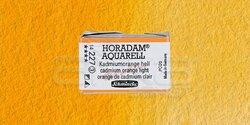 Schmincke - Schmincke Horadam Aquarell 1/1 Tablet 227 Cadmium Orange Light seri 3