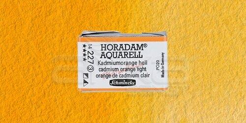 Schmincke Horadam Aquarell 1/1 Tablet 227 Cadmium Orange Light seri 3 - 227 Cadmium Orange Light