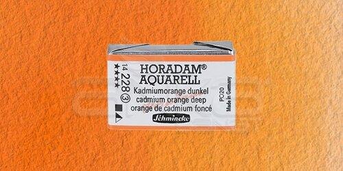 Schmincke Horadam Aquarell 1/1 Tablet 228 Cadmium Orange seri 3 - 228 Cadmium Orange