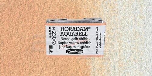 Schmincke Horadam Aquarell 1/1 Tablet 230 Naples Yellow Reddish seri 2 - 230 Naples Yellow Reddish