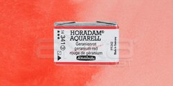 Schmincke - Schmincke Horadam Aquarell 1/1 Tablet 341 Geranium Red seri 3