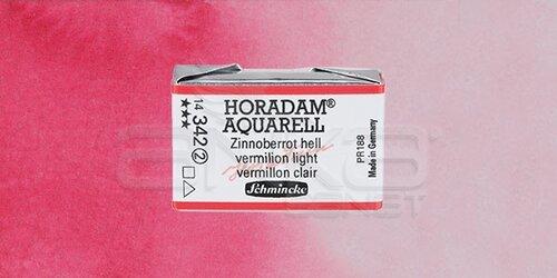 Schmincke Horadam Aquarell 1/1 Tablet 342 Vermilion Light seri 2 - 342 Vermilion Light