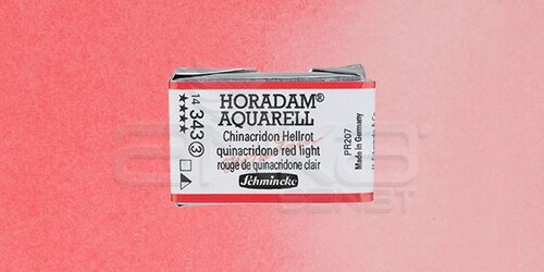 Schmincke Horadam Aquarell 1/1 Tablet 343 Quinacridone Red Light seri 3 - 343 Quinacridone Red Light