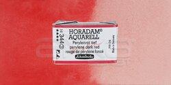Schmincke - Schmincke Horadam Aquarell 1/1 Tablet 344 Perylene Dark Red seri 3