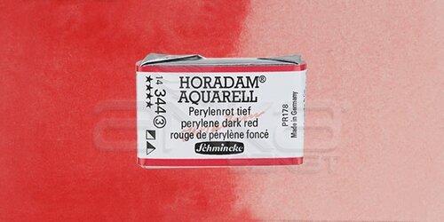 Schmincke Horadam Aquarell 1/1 Tablet 344 Perylene Dark Red seri 3 - 344 Perylene Dark Red