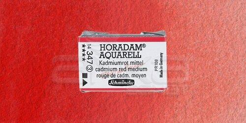 Schmincke Horadam Aquarell 1/1 Tablet 347 Cadmium Red Middle seri 3 - 347 Cadmium Red Middle