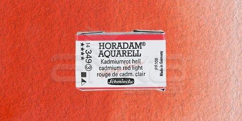 Schmincke Horadam Aquarell 1/1 Tablet 349 Cadmium Red Light seri 3 - 349 Cadmium Red Light