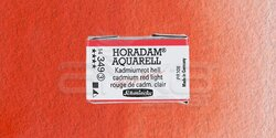 Schmincke - Schmincke Horadam Aquarell 1/1 Tablet 349 Cadmium Red Light seri 3