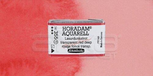 Schmincke Horadam Aquarell 1/1 Tablet 355 Transparent Red Deep seri 1 - 355 Transparent Red Deep