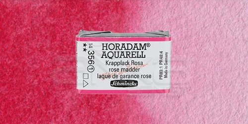 Schmincke Horadam Aquarell 1/1 Tablet 356 Rose Madder seri 1 - 356 Rose Madder