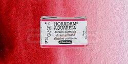 Schmincke - Schmincke Horadam Aquarell 1/1 Tablet 357 Alizarin-Crimson seri 1