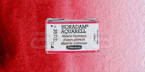 Schmincke Horadam Aquarell 1/1 Tablet 357 Alizarin-Crimson seri 1 - 357 Alizarin-Crimson
