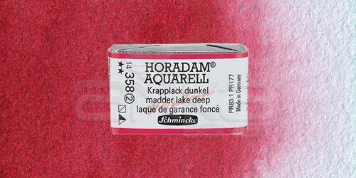 Schmincke Horadam Aquarell 1/1 Tablet 358 Madder Lake Deep seri 2 - 358 Madder Lake Deep