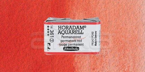 Schmincke Horadam Aquarell 1/1 Tablet 361 Permanent Red seri 3 - 361 Permanent Red