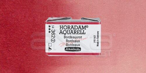 Schmincke Horadam Aquarell 1/1 Tablet 362 Bordeaux seri 2 - 362 Bordeaux
