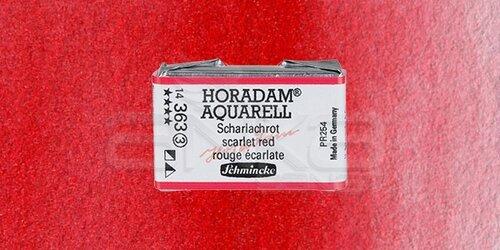 Schmincke Horadam Aquarell 1/1 Tablet 363 Scarlet Red seri 3 - 363 Scarlet Red
