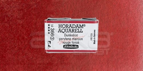 Schmincke Horadam Aquarell 1/1 Tablet 366 Deep Red seri 3 - 366 Deep Red