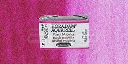 Schmincke - Schmincke Horadam Aquarell 1/1 Tablet 367 Purple Magenta seri 3