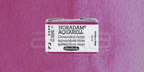Schmincke Horadam Aquarell 1/1 Tablet 368 Quinacridone Violet seri 2 - 368 Quinacridone Violet