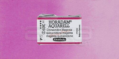 Schmincke Horadam Aquarell 1/1 Tablet 369 Quinacridone Magenta seri 2 - 369 Quinacridone Magenta
