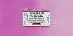 Schmincke - Schmincke Horadam Aquarell 1/1 Tablet 369 Quinacridone Magenta seri 2