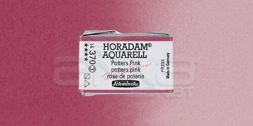 Schmincke Horadam Aquarell 1/1 Tablet 370 Potters Pink seri 3 - 370 Potters Pink
