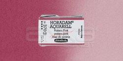 Schmincke - Schmincke Horadam Aquarell 1/1 Tablet 370 Potters Pink seri 3