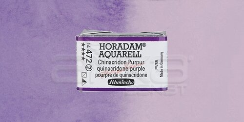 Schmincke Horadam Aquarell 1/1 Tablet 472 Quinacridone Purple seri 2 - 472 Quinacridone Purple