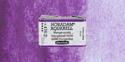Schmincke Horadam Aquarell 1/1 Tablet 474 Manganese Violet seri 3 - 474 Manganese Violet