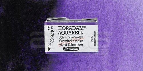 Schmincke Horadam Aquarell 1/1 Tablet 476 Schmincke Violet seri 2 - 476 Schmincke Violet