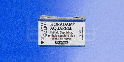 Schmincke Horadam Aquarell 1/1 Tablet 477 Phthalo Sapphire Blue seri 2 - 477 Phthalo Sapphire Blue