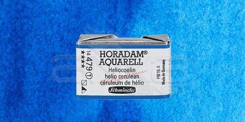 Schmincke Horadam Aquarell 1/1 Tablet 479 Helio Cerulean seri 1 - 479 Helio Cerulean