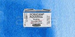 Schmincke - Schmincke Horadam Aquarell 1/1 Tablet 480 Mountain Blue seri 1