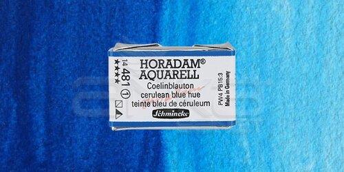 Schmincke Horadam Aquarell 1/1 Tablet 481 Cerulean Blue Tone seri 1 - 481 Cerulean Blue Tone