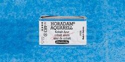 Schmincke - Schmincke Horadam Aquarell 1/1 Tablet 483 Cobalt Azure seri 4