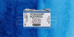 Schmincke - Schmincke Horadam Aquarell 1/1 Tablet 484 Phthalo Blue seri 1