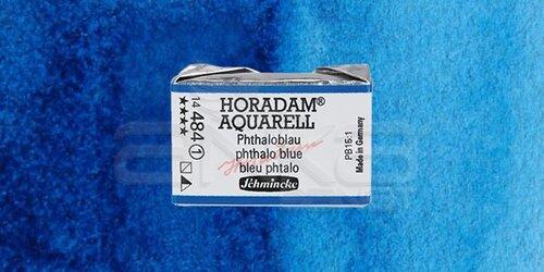 Schmincke Horadam Aquarell 1/1 Tablet 484 Phthalo Blue seri 1 - 484 Phthalo Blue