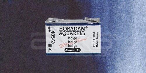 Schmincke Horadam Aquarell 1/1 Tablet 485 Indigo seri 2 - 485 Indigo