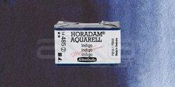 Schmincke - Schmincke Horadam Aquarell 1/1 Tablet 485 Indigo seri 2