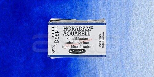 Schmincke Horadam Aquarell 1/1 Tablet 486 Cobalt Blue Tone seri 1 - 486 Cobalt Blue Tone