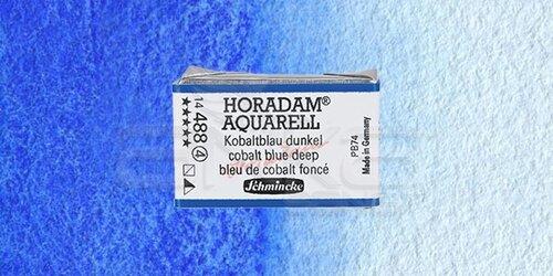 Schmincke Horadam Aquarell 1/1 Tablet 488 Cobalt Blue Deep seri 4 - 488 Cobalt Blue Deep