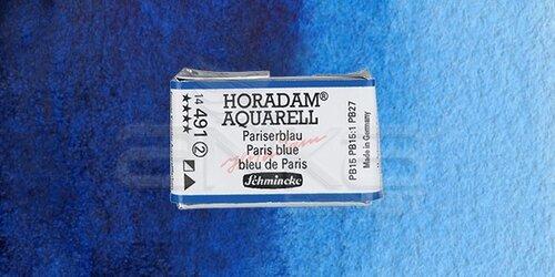 Schmincke Horadam Aquarell 1/1 Tablet 491 Paris Blue seri 2 - 491 Paris Blue