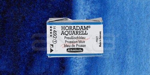 Schmincke Horadam Aquarell 1/1 Tablet 492 Prussian Blue seri 1 - 492 Prussian Blue