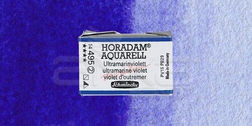 Schmincke Horadam Aquarell 1/1 Tablet 495 Ultramarine Violet seri 2 - 495 Ultramarine Violet