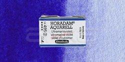 Schmincke - Schmincke Horadam Aquarell 1/1 Tablet 495 Ultramarine Violet seri 2