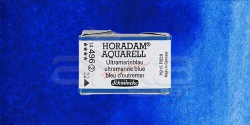 Schmincke Horadam Aquarell 1/1 Tablet 496 Ultramarine Blue seri 2 - 496 Ultramarine Blue