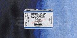 Schmincke - Schmincke Horadam Aquarell 1/1 Tablet 498 Dark Blue Indigo seri 3