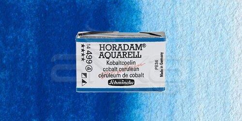 Schmincke Horadam Aquarell 1/1 Tablet 499 Cobalt Cerulean seri 4 - 499 Cobalt Cerulean