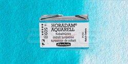 Schmincke - Schmincke Horadam Aquarell 1/1 Tablet 509 Cobalt Turquoise seri 4